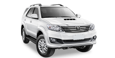 hire a fortuner car in indore
