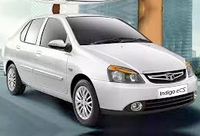 rent a indica car in indore