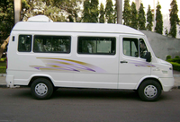 hire a traveller in indore